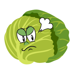 Angry Cabbage