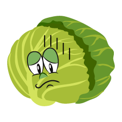 Depressed Cabbage