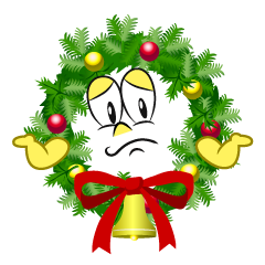 Troubled Christmas Wreath