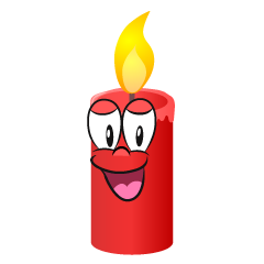 Smiling Candle