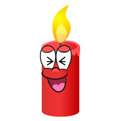 Laughing Candle
