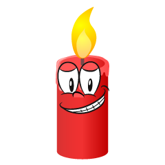 Grinning Candle