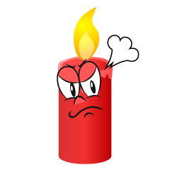 Angry Candle