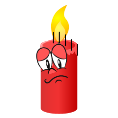 Depressed Candle