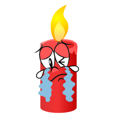 Crying Candle