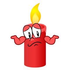Troubled Candle