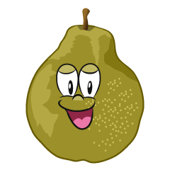 Smiling Pear