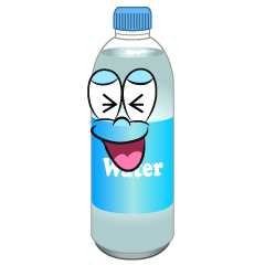 Laughing Water Bottle