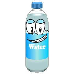 Grinning Water Bottle