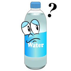 Thinking Water Bottle