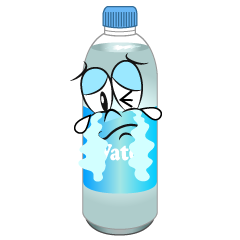 Crying Water Bottle