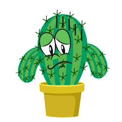 Depressed Foliage Cactus