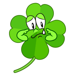 Sad Four Leaf Clover