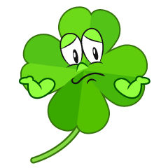 Troubled Four Leaf Clover