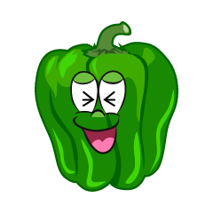 Laughing Green Pepper