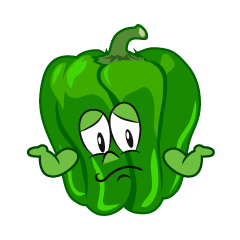 Troubled Green Pepper