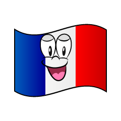 Smiling French Flag