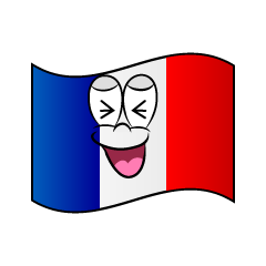 Laughing French Flag