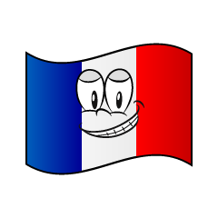 Grinning French Flag