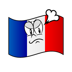 Angry French Flag