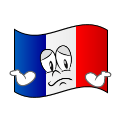 Troubled French Flag