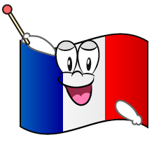 Speaking French Flag