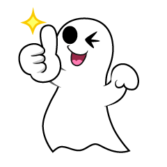 Thumbs up Ghost
