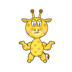 Troubled Giraffe
