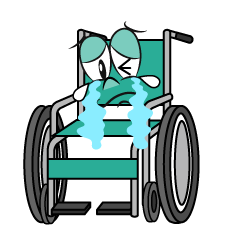Crying Wheelchair