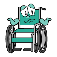 Troubled Wheelchair