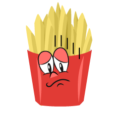 Depressed French Fries