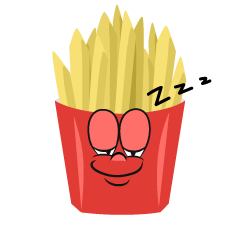Sleeping French Fries