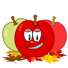Grinning Fall Apple