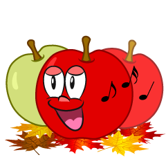 Singing Fall Apple