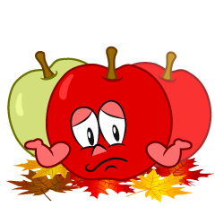 Troubled Fall Apple