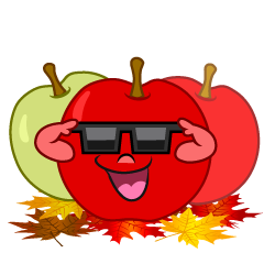 Cool Fall Apple