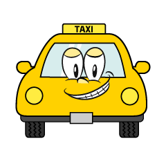 Grinning TAXI