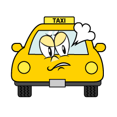 Angry TAXI