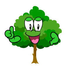 Thumbs up Tree
