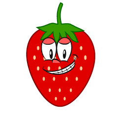 Grinning Strawberry