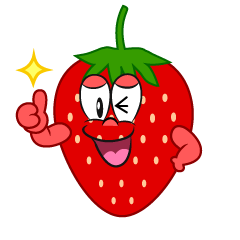 Thumbs up Strawberry