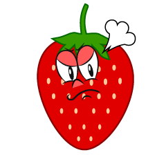 Angry Strawberry