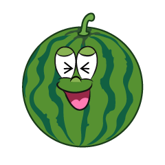 Laughing Watermelon