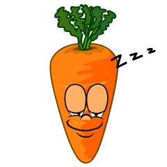 Sleeping Carrot